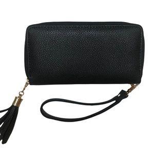 "NWOT Black clutch purse wallet, 4x8"""